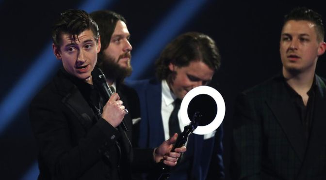 ArcticMonkeys / Brit Awards 2014