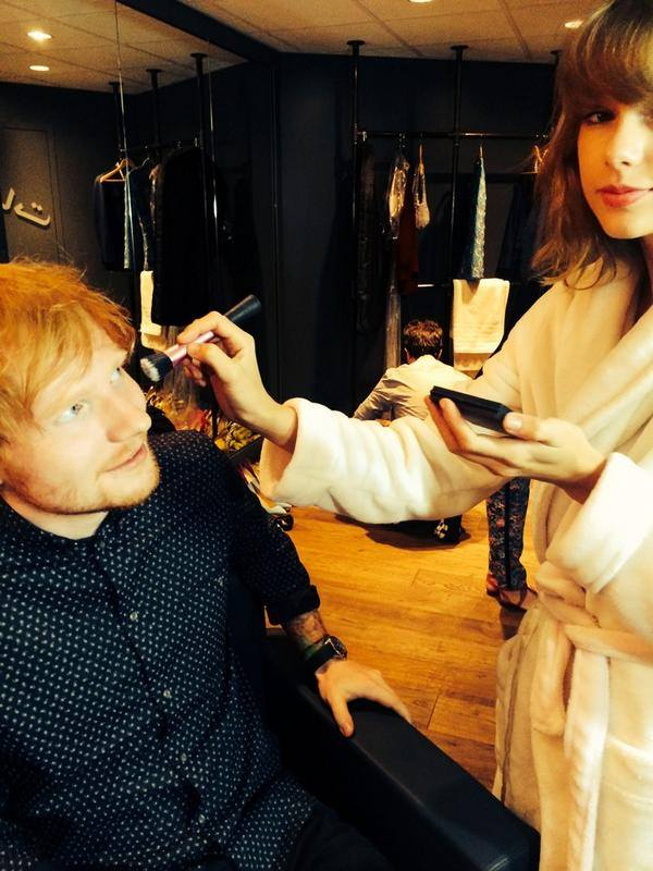 Taylor Swift Ed Sheeran MTV