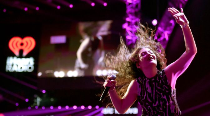 Lorde IHeart Music Fest (photo: Getty Images)
