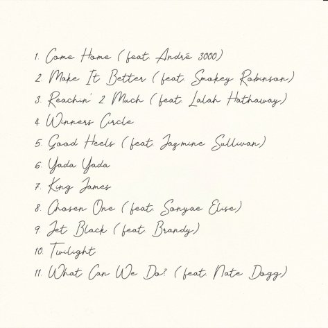 Anderson .Paak Ventura Tracklist