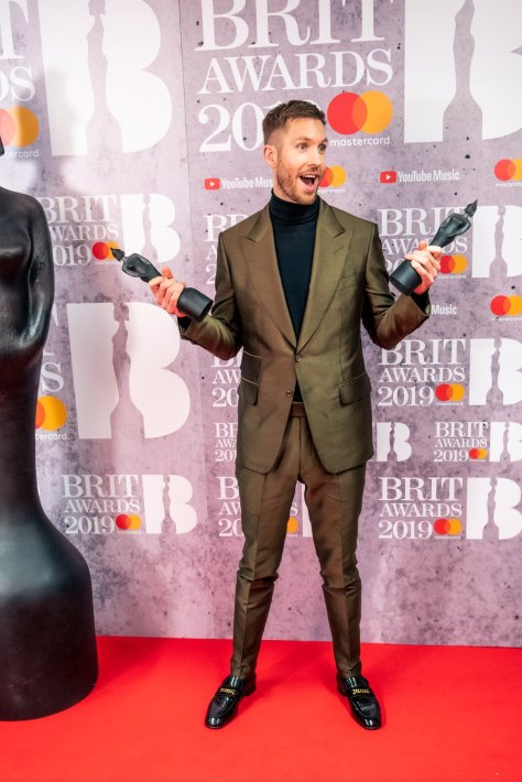 Calvin Harris BRIT Awards