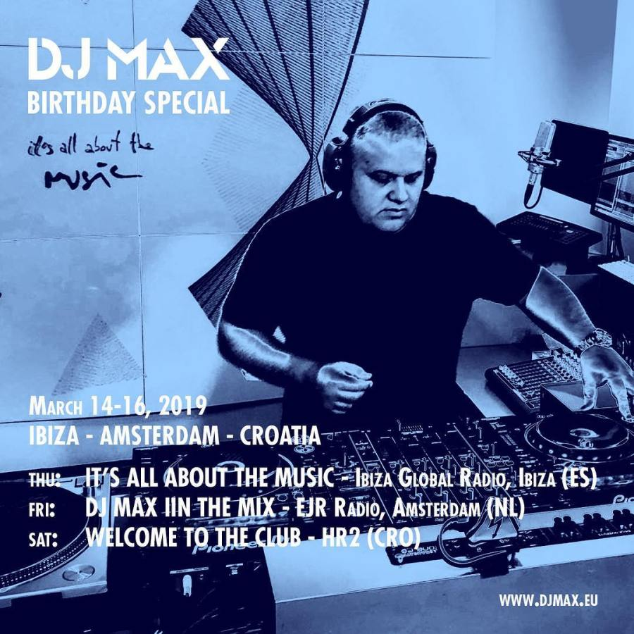 DJ Max Birthday Special