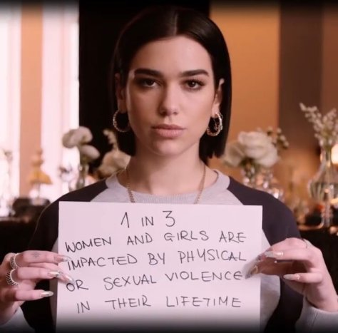 Dua Lipa Global Feminism