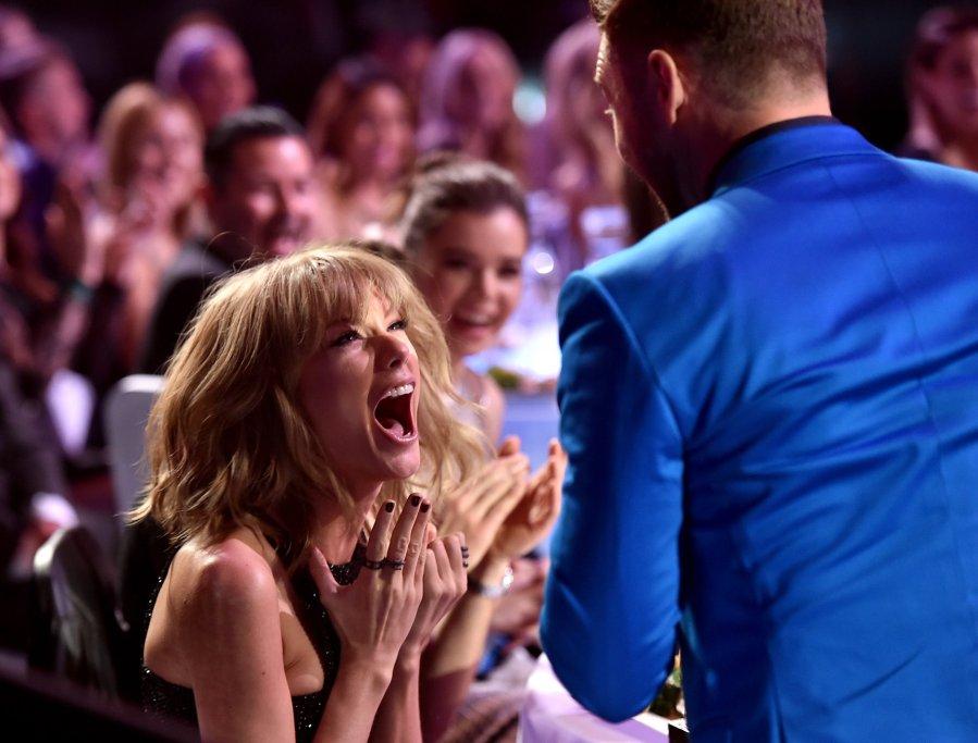 Taylor Swift Justin Timberlake iHeartRadio MUsic Awards
