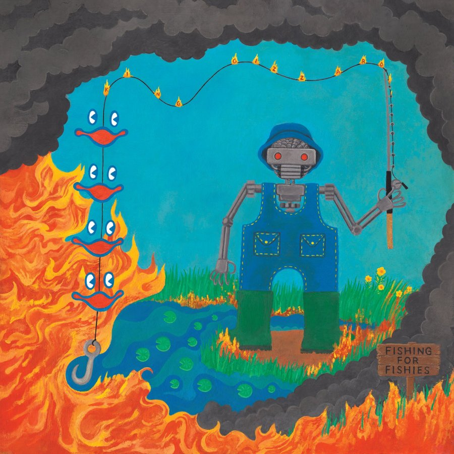 5Artwork Album King Gizzard & the Lizard Wizard Fishing for Fishes