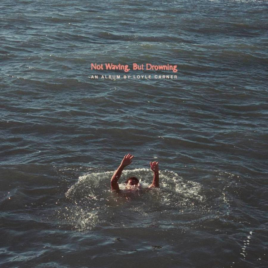 Artwork album Loyle Carner Not Waving But Drowning