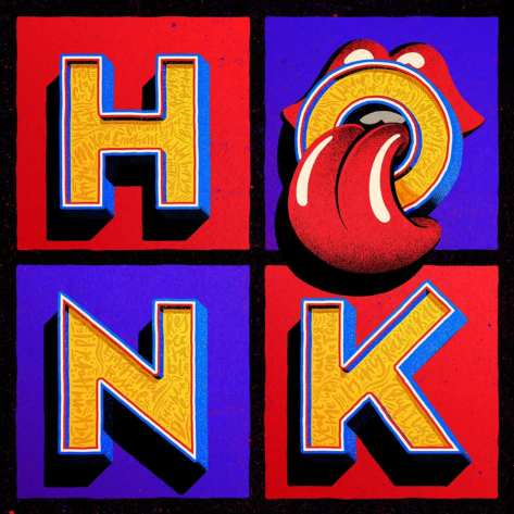 Artwork Album The Rolling Stones Honk