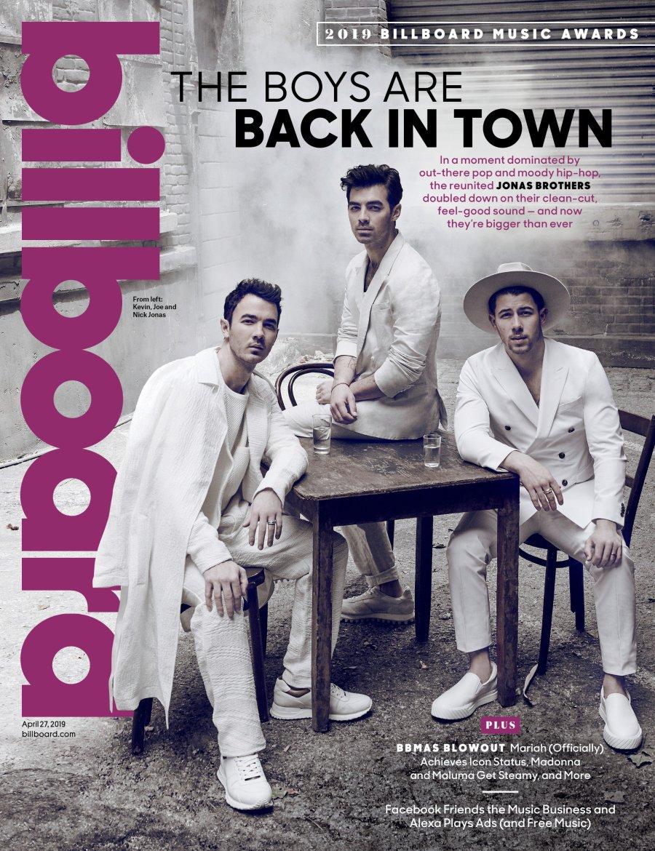 Billboard Cover Jonas Brothers