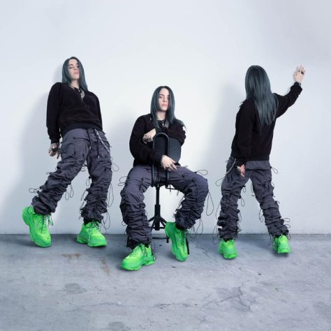 Billie Eilish Green Twitter 2019 April