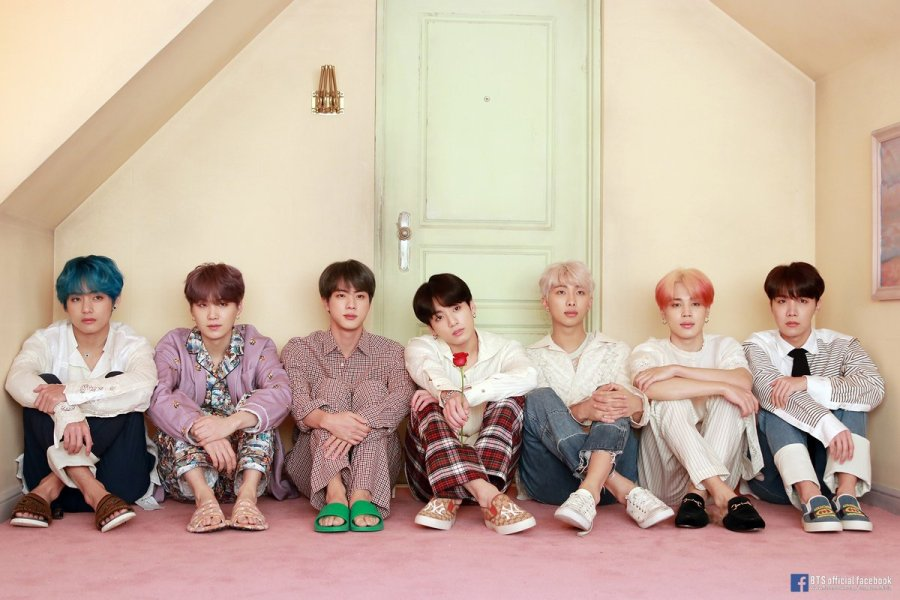 BTS Twitter 2019 April Map of the Soul Persona Concept Photo