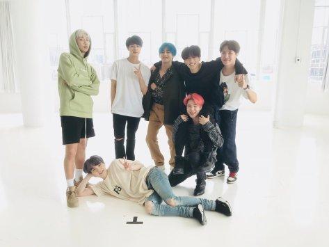 BTS Twitter 2019 April Studio