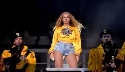 Screen Shot Beyonce Coachella