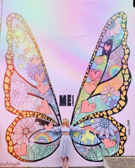 Taylor Swift ME! Butterfly Facebook 2019 April