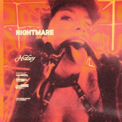 Artwork Single Halsey Nightmare