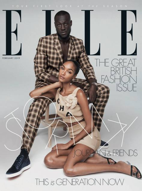 Elle Stormzy Maya Jama Facebook 2019 May