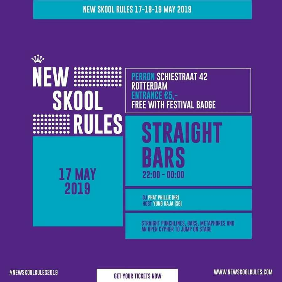 New Skool Rules Party Facebook 2019 May