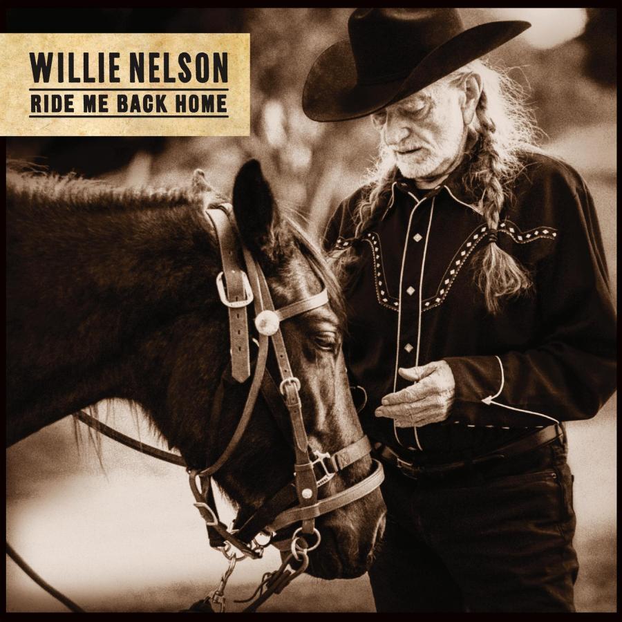 Album Artwork Willie Nelson Ride Me Back Home