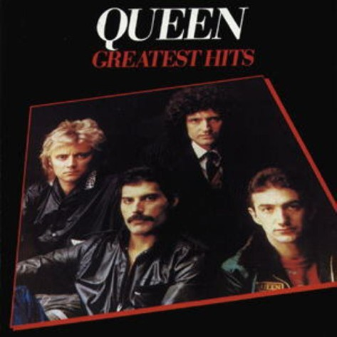 Artwork Album Queen Greatest Hits