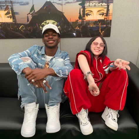 Lil Nas X Billie Eilish Twitter 2019 June 02