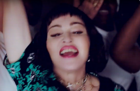 Screen Shot Madonna Batuka