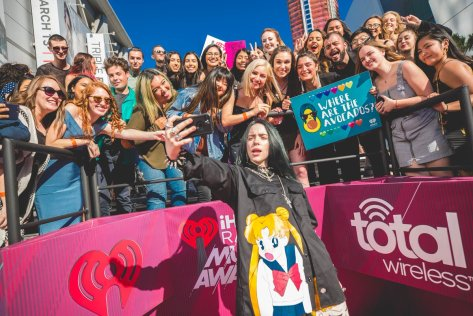 Billie Eilish iHeartRadio Twitter