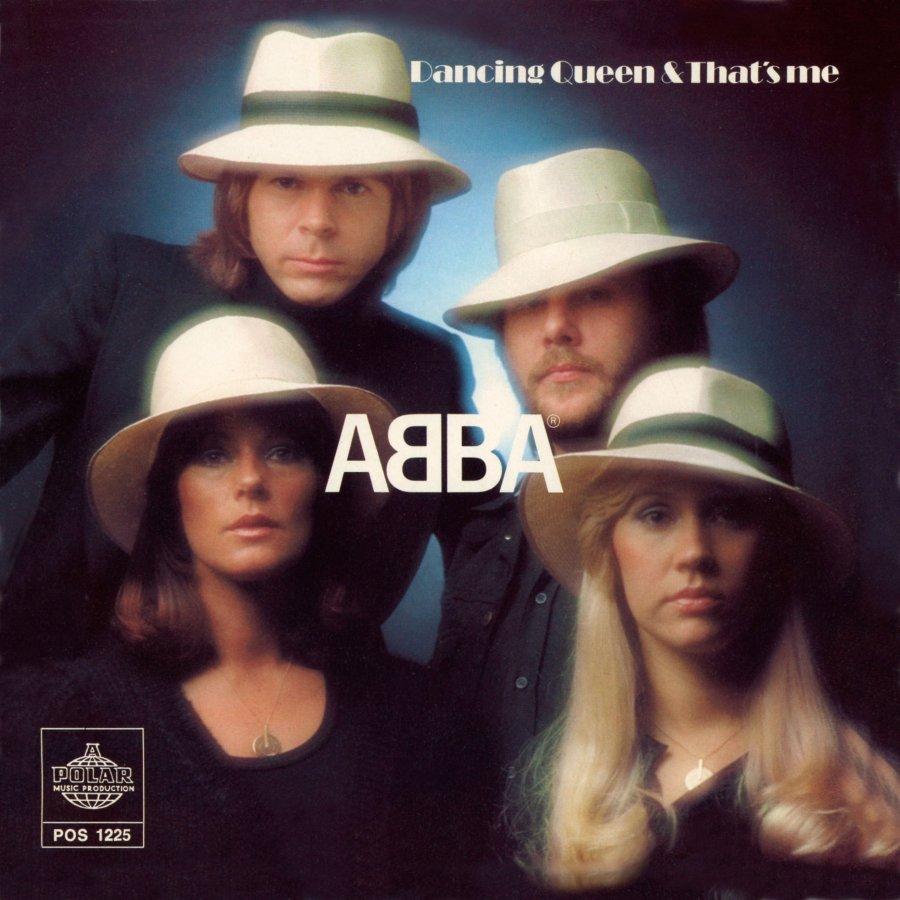 Single Artwork ABBA Dancing Queen