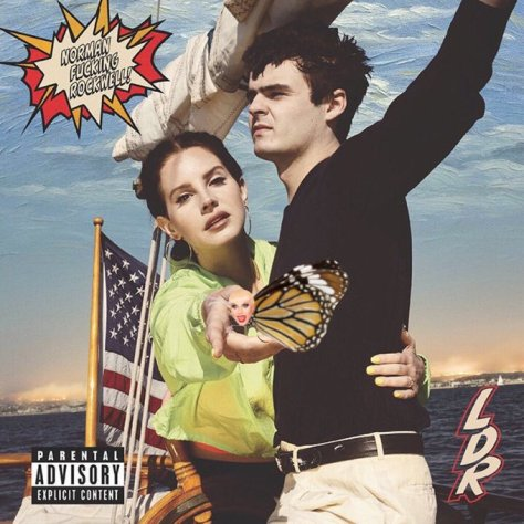 Album Artwork Lana Del Rey - Norman Fucking Rockwell