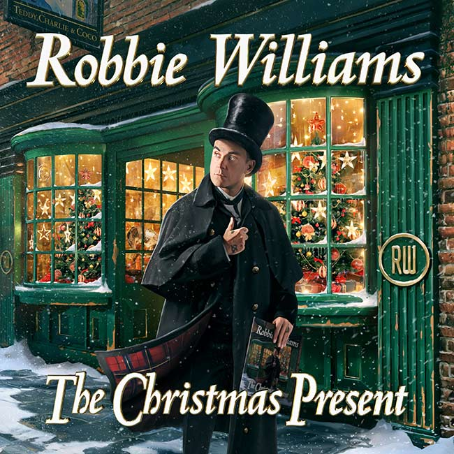 Album Artwork Robbie Williams The Christmas Gift