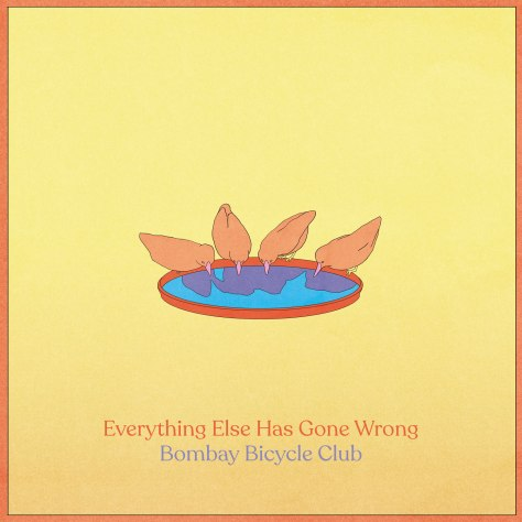 Album Artwork Bombay Bicycle Club - Everything Else Has Gone Wrong