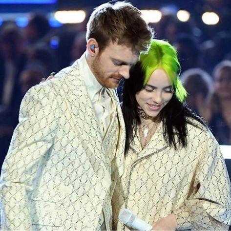 Billie Eilish Finneas Grammy 2020 Facebook