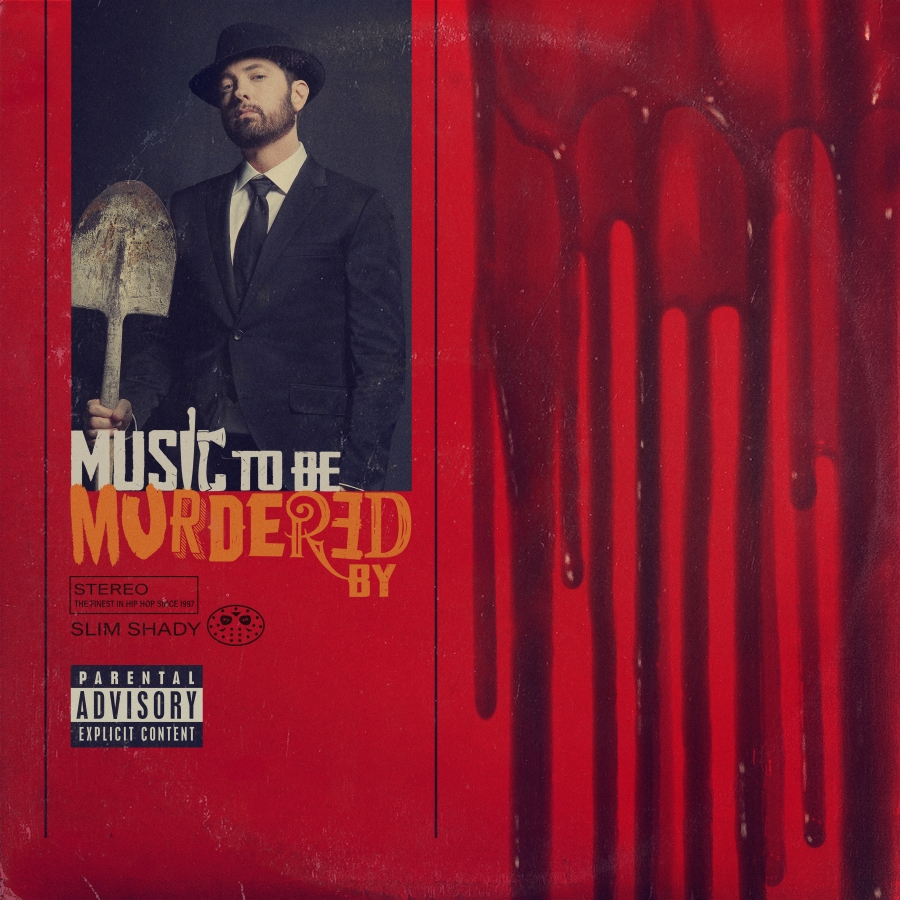 Eminem - Music To Be Murdered Artwork