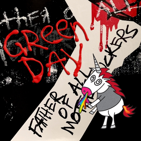 Album Artwork Green Day Father of All Motherfuckers