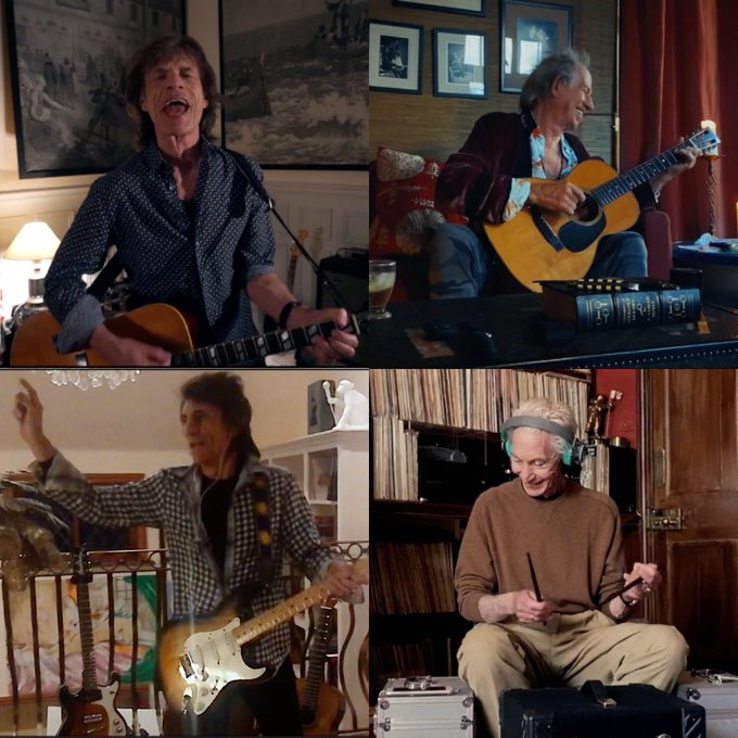 The Rolling Stones Twitter 2020-04-19