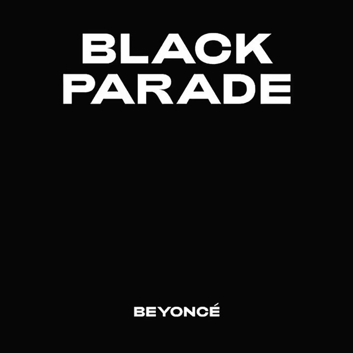 Single Cover Beyonce Black Parade